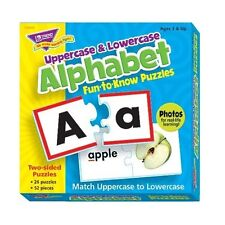 Alphabet Match Puzzle Pairs Speech Therapy Special Needs Autism