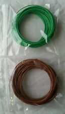 10m Verde 10m Brown Solid Core 1/0.6 mm Hookup Wire-BASETTA Arduino Progetti