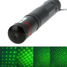 5mW 532nm Green Light Adjustable Starry Sky Laser Pointer Pen Flashlight A7F5