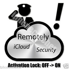 iCloud ReLock Remote Service iPhone Lost Stolen Enable Security Activation Lock