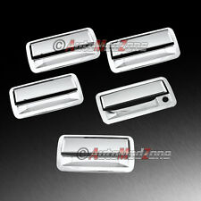 98-05 Chevy Blazer S10 SUV Chrome 4 Door Handle Covers+Tailgate Cover w/o PSG KH