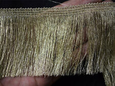 2 Yard Metallic Gold Fringe for Home Decor Dull Gold Fringe Lace