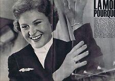 COUPURE DE PRESSE CLIPPING 1962 L'accident du Boeing Paris-Atlanta  (16 pages)