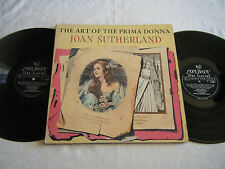 JOAN SUTHERLAND Art Of The Prima Donna 2 LPs London A-4241 1A/1A, 1A/1A EX NM