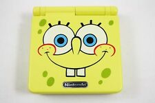 Nintendo Game Boy Advance GBA SP Custom Spongebob Yellow System AGS 001 MINT
