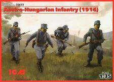 AUSTRO-HUNGARIAN INFANTRY - 1914 (WITH WEAPONS) #35673 1/35 ICM