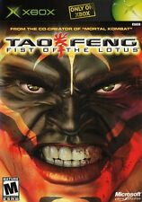 Tao Feng: Fist of the Lotus - Original Xbox Game