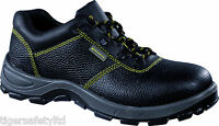 Delta Plus Panoply Goult S1P Mens Black Leather Steel Toe Cap Safety Shoes PPE