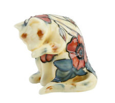 """Old Tupton Ware Cat Collection Figurine 3"""" Yellow Poppy TW1660"""