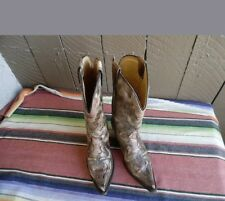 Women's Corral Boots Inlay Distressed Inlay Western Cowboy Boots 7 M (f587)