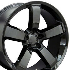 "20"" Wheels For Dodge Charger SRT8 Magnum Challenger Chrysler 300 Black 20x9 Rims"