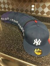 New Era Eric EManuel Fitted Hat Size 7 New York Yankees Waxed Supreme Limited