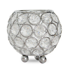 VINCIGANT Crystal Candle Holders tealight Table Centerpieces Wedding  Bar Dinner