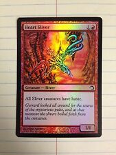HEART SLIVER FOIL 1X NM X1 Premium Deck Series Slivers magic mtg