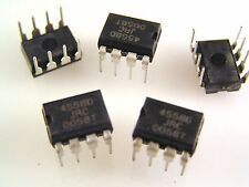 JRC 4558d LOW POWER DUAL OP AMP circuito integrato om039b 5 PEZZI