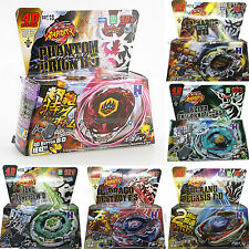 4D Masters BEYBLADE stadium Fusion Metal Top Rapidity Fight Rotate With Launcher