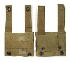 2 COYOTE BROWN KA-BAR KNIFE ADAPTER MOLLE PALS SDS ALICE CLIP ADAPTER MIL. ISSUE