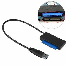 "For Laptop 2.5"" Hard Drive Disk HDD Converter Adapter to SATA ATA Cable USB 3.0"
