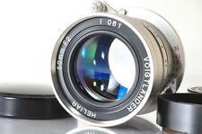 [EXCELLENT--]Voigtlander Heliar 50mm f/2 10th Anniversary Nickel Edition Leica