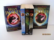 A Tale of Redwall Serie by Brian Jacques, Volumes 4, 7, 9, 10 & 12 Lot of 5 Bks