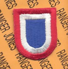US Army 82nd Airborne Division NCBU *B* beret flash patch c/e