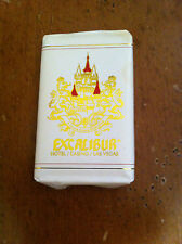 vintage bar oatmeal soap  Excalibur Hotel / Casino in Las Vegas Nevada Gambler