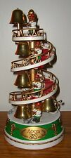 2003 Avon Animated HOLIDAY BELL TOWER MUSICAL PLAYS MUSIC TESTED WORKS RARE HTF