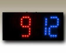 Portable Remote Controlled Scoreboard (Red/Blue)