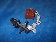 Lego Duplo Piratenschiff Ersatzteil grosser Anker + Kette + Stein 7881 7880