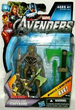 The Avengers CHITAURI WARRIOR #16 COSMIC AXE Action Figure