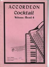ACCORDEON Cocktail Volume / Band 4 Music MENWEG