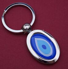Nazar Evil Eye Schlüsselanhänger Anahtarlik Silber Magisches Auge Böser Blick