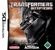 NINTENDO DS 3DS TRANSFORMERS Decepticons Top Zustand