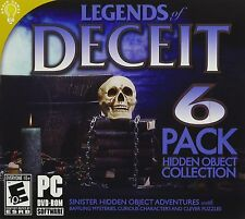Legends Of Deceit PC Games Windows 10 8 7 Vista XP Computer hidden object seek