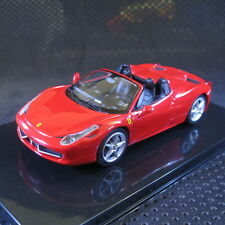 1:43 Hot Wheels Ferrari 458 Spider Elite Die Cast Model Car with Box