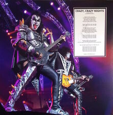 GENE SIMMONS Signed 24x24 Photo Display KISS Crazy Nights COA