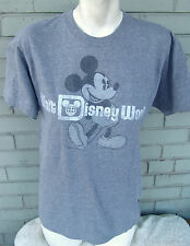 Walt Disney World Resort Gray Mickey Mouse Medium T-Shirt