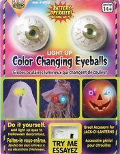"1.5"" Flashing Color Changing Eye Balls Halloween Decoration Eyeballs"
