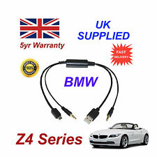 BMW Z4 Series Audio Cable For Samsung Galaxy, HTC, Blackberry, LG, Nokia Sony
