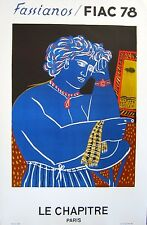 Fassianos Paris Poster