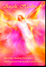 """Angelic Healing"" Visual Meditation DVD featuring Angel Art by Glenyss Bourne"