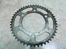90 Honda XR 250 R XR250 rear back sprocket