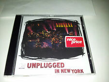 cd musica rock nirvana mtv unplugged in new york
