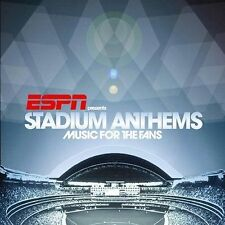 ESPN Presents Stadium Anthems: Music for the Fans (CD) We Will Rock You / Queen