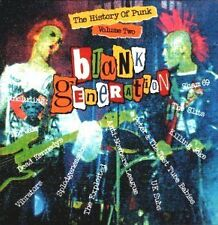 The History of Punk Blank Generation Vol. 2 Jam Exploited Dead Kennedys U.K. Sub