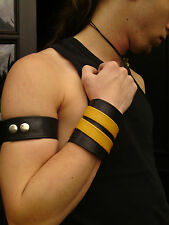 Gay Szene Leder Armstulpe Armband
