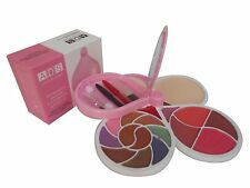 ADS 8148 MAKEUP KIT 10 EYESHADOW 4  BLUSHER 2  POWDER CAKE  AND 2  LIP COLOUR