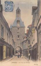 CPA 37 AMBOISE LA TOUR DE L'HORLOGE (type sage timbre