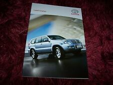 Catalogue /  Brochure TOYOTA Land Cruiser  2006 //
