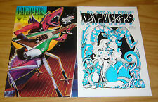 Wavemakers #1-2 VF/NM complete series - harvey pekar - evan dorkin  matt howarth